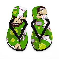 Tennis Pad12 Flip Flops