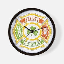 IRISH Brigade png file Wall Clock