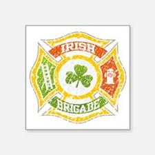 "IRISH Brigade png file Square Sticker 3"" x 3"""