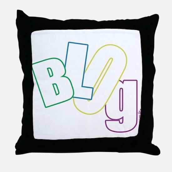 Blog Throw Pillow