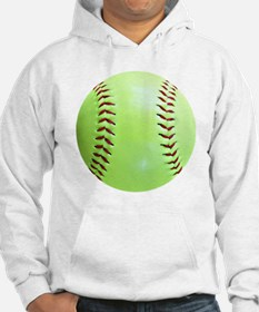 Softball Earrings, Charms Hoodie