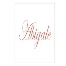 Cursive Abigale Postcards (Package of 8)