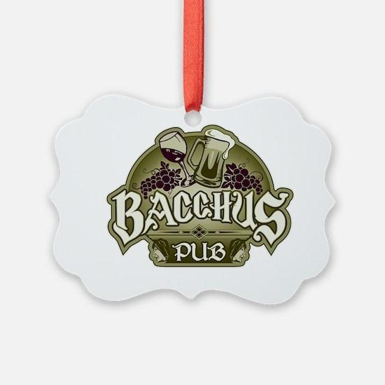 bacchus1 copy Ornament