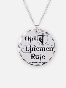 old linemen rule 1 Necklace