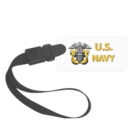 U.S. Navy Small Luggage Tag