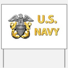 U.S. Navy Yard Sign