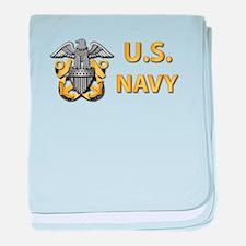 U.S. Navy baby blanket