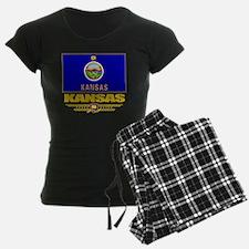 Kansas (Flag 10) Pajamas