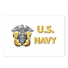 U.S. Navy Postcards (Package of 8)