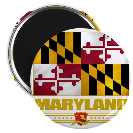 Maryland (Flag 10) Magnet