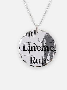 old linemen rule 2 Necklace