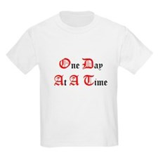 One Day At A Time Kids T-Shirt