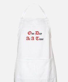 One Day At A Time BBQ Apron