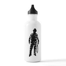 old linemen rule 4 Water Bottle
