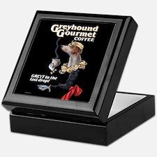 Greyhound Gourmet-maiden Keepsake Box