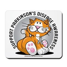 Parkinsons-Disease-Cat Mousepad