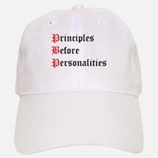 Principles Before Personalities Baseball Baseball Cap