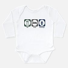 Eat Sleep Sociology Infant Bodysuit Body Suit