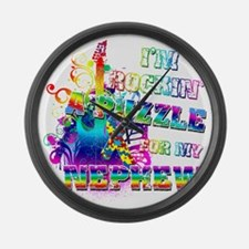 Im Rockin A Puzzle for my Nephew Large Wall Clock