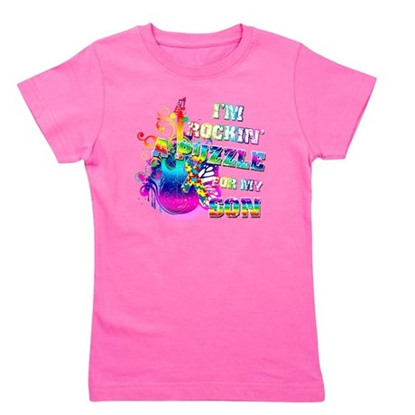 Im Rockin A Puzzle for my Son Girl's Tee