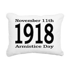 Armistice Day November 1 Rectangular Canvas Pillow