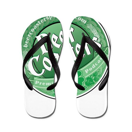 BeerCoasters_LOGO_IRISH Flip Flops