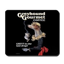 Greyhound Gourmet-maiden Mousepad