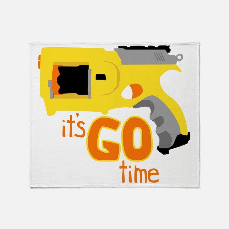 Go Time Dart Gun Throw Blanket