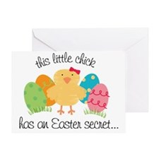 easter2011-front Greeting Card
