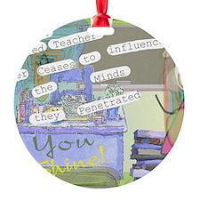Retired Teacher ART 1 Ornament