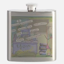 Retired Teacher ART 1 Flask