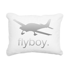 Flyboy Student Pilot (Da Rectangular Canvas Pillow