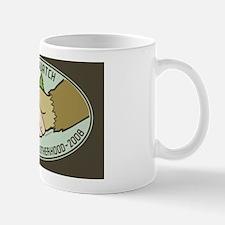 Yeti-Sasquatch Brotherhood Oval Sticker Mug