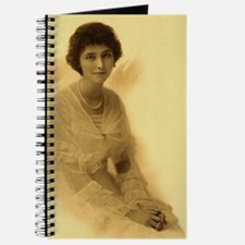 lady with pearls Journal