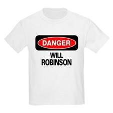 Danger Will Robinson Kids T-Shirt