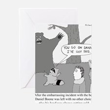 Daniel Boone Greeting Card