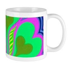 Hearts of Tahiti Pink 14x6 Mug