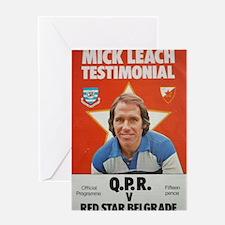 mick leach Greeting Card