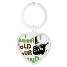 beatles-600-28 Heart Keychain