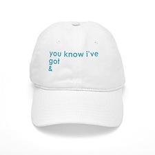 Adonis-White Baseball Cap