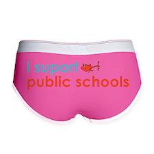 Support Public School Women's Boy Brief