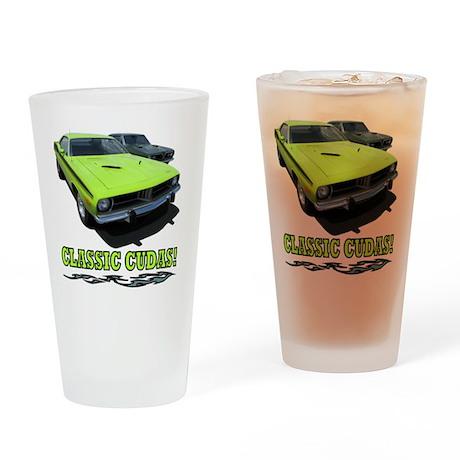 Classic Cudas (4000x 4000) Drinking Glass