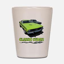 Classic Cudas (4000x 4000) Shot Glass
