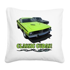 Classic Cudas (4000x 4000) Square Canvas Pillow