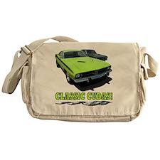 Classic Cudas (4000x 4000) Messenger Bag