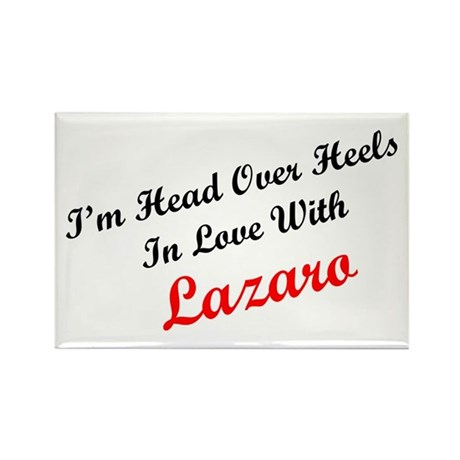 In Love with Lazaro Rectangle Magnet (10 pack)