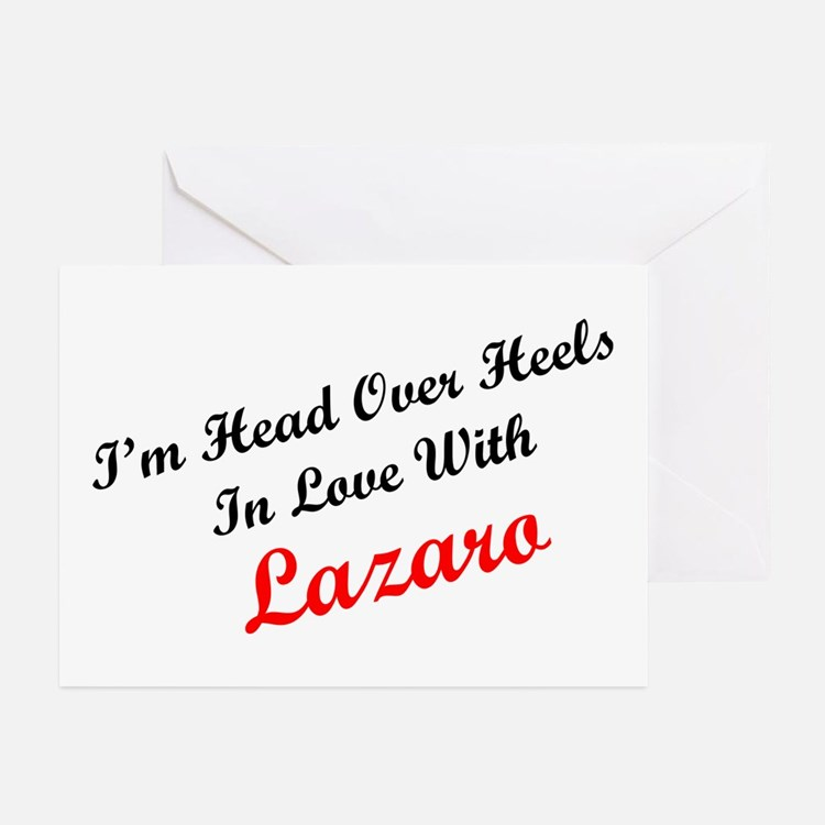 In Love with Lazaro Greeting Cards (Pk of 10)