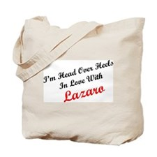 In Love with Lazaro Tote Bag