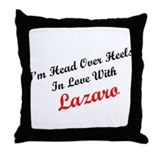In Love with Lazaro Throw Pillow