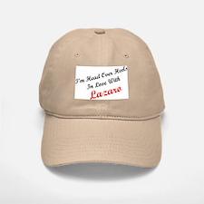 In Love with Lazaro Baseball Baseball Cap
